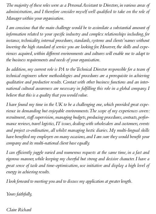 am u00e9liorer sa lettre de motivation en anglais   exemple