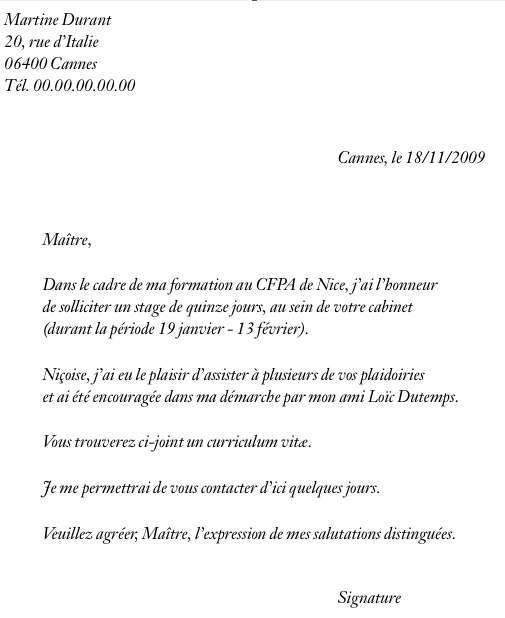 exemple lettre motivation generale