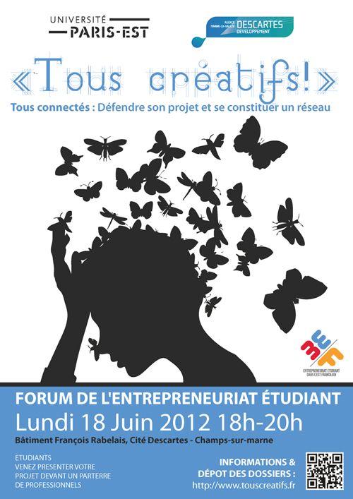 Opération Tous créatifs 2012 - Université Pars-Est – Marne-la-Vallée