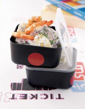 recette de laurent mariotte salade de pommes de terre nouvelles l aneth et aux crevettes l. Black Bedroom Furniture Sets. Home Design Ideas