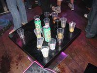 soiree medecine alcool