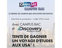 Grand Jeu CAMPUS BAC Discovery EDUCATION !