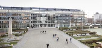 L'école nationale des sciences géographiques de Champs-sur-Marne, l'un des membres de la nouvelle université Gustave Eiffel. //©Agence PWP