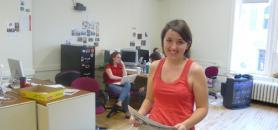 Maggie Cassidy dans la rédaction