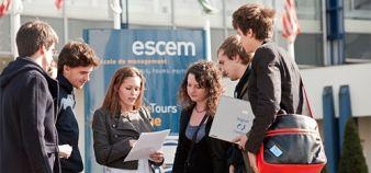 À partir de la rentrée 2017, les campus de l'Escem accueilleront une partie des titres RNCP dispensés par La Rochelle et GES. //©ESCEM Tours