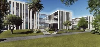 À Rabat, le campus marocain de l'Essec pourra accueillir jusqu'à 500 étudiants. //©ESSEC