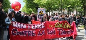 À Paris, d'après les syndicats, 60.000 personnes ont défilé, 15.000 selon les autorités. //©Sarah Hamdi