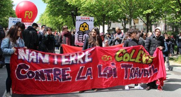 Manifestation 28 avril 2016 - Paris - Etudiants