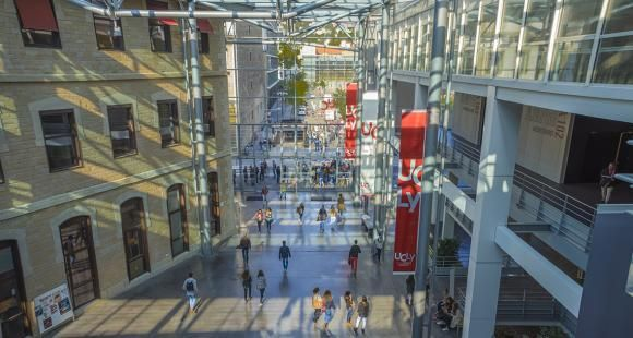 Le campus Saint-Paul de l'Ucly à Lyon.
