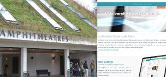 Depuis la rentrée 2014, la Faculté ouverte de Paris délivre une L3 et un M1 en distance de l'Université de Pau et des pays de l'Adour. //©Isabelle Dautresme