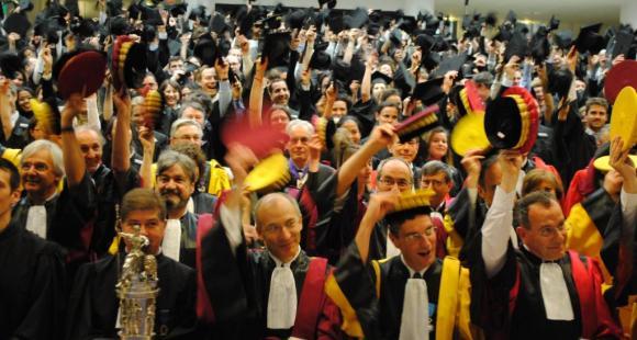 Cérémonie des docteurs - Sorbonne universités - ©C.Stromboni - 2011