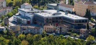 L'université de Corse a été la première à fermer ses portes en France dès le 9 mars. //©Raphaël Poletti/Université de Corse
