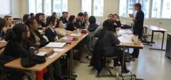 Des étudiants étrangers à l'IAE de Paris 12