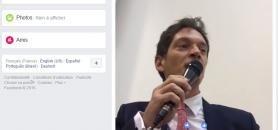At University Paris 1 Panthéon-Sorbonne, Bruno Dondero's MOOCs on Facebook have been a huge success. His first video received 25,000 views. //©Capture d'écran