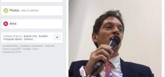 Diffuser les cours en direct sur Facebook Live, ça marche. La première vidéo de Bruno Dondero culmine à 25.000 vues.