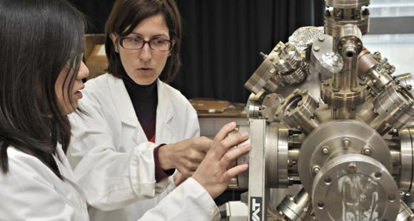 Le laboratoire des matériaux, surfaces et procédé pour la catalyse de Strasbourg (UMR CNRS - ECPM - UdS) © Pascal Disdier