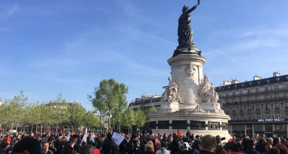 Place de la République - 24 avril 2017