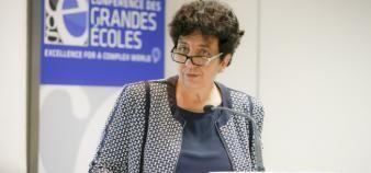Face aux directeurs et directrices de grandes écoles, Frédérique Vidal a affirmé être pour un dialogue