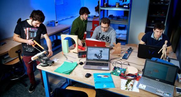 À l'UTBM, l'Open Lab fait passer l'innovation de l'idée à l'objet