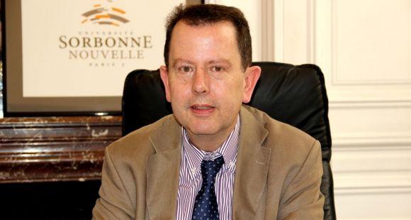 Carle Bonafous-Murat, président de Sorbonne Nouvelle - Paris 3