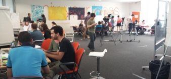 Les équipes du Hackathon ont planché pendant un jour et demi sur des applis pour aider les citoyens à mieux décider de leur orientation. //©Isabelle Maradan