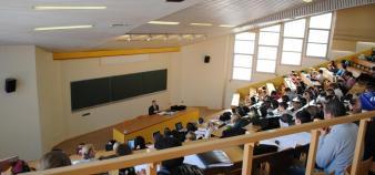 Amphithéâtre de licence - université du Havre - ©C.Stromboni mai2011 //©Camille Stromboni