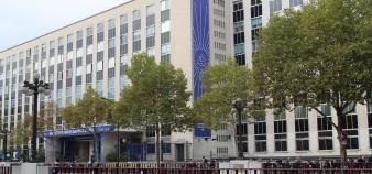 L'université Paris-Dauphine où a lieu le congrès mondial des écoles de journalisme du 9 au 11 juillet 2019. //©IPJ Dauphine - PSL