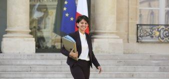 Najat Vallaud-Belkacem, ministre de l'Education nationale, de l'Enseignement supérieur et de la Recherche //©Hamilton / R.E.A