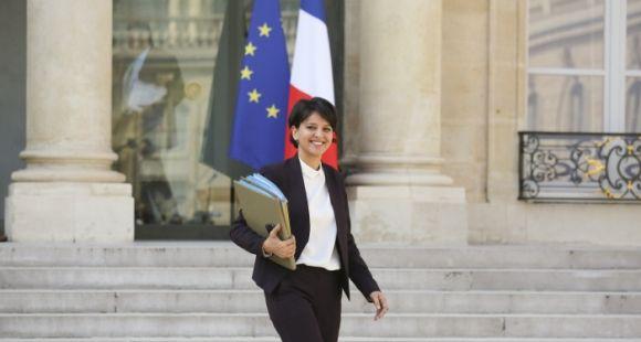 Najat Vallaud-Belkacem, ministre de l'Education nationale, de l'Enseignement supérieur et de la Recherche