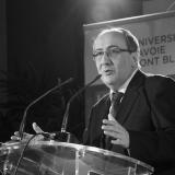 Denis Varaschin, président de l'université Savoie Mont-Blanc //©université Savoie Mont-Blanc