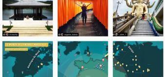 Le compte Instagram de Centrale Marseille permet de suivre les étudiants et les diplômés de l'école tout autour du monde. //©Centrale Marseille
