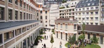 Le campus Eiffel Ouest, situé dans le 15e arrondissement de Paris, accueillera le siège de l'Inseec U. //©EBS