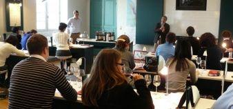 Inseec - des étudiants de M2 du Bordeaux international wine institute © Inseec