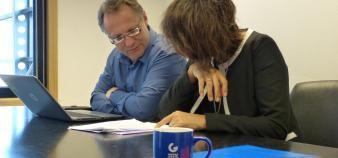 Guillaume Pourquié est rattaché au service juridique, dont la responsable est Jeanne Renard. //©Camille Jourdan