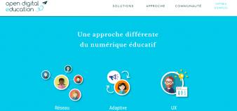 Le réseau social éducatif Open Digital Education vient de lever 2 millions d'euros auprès d'Educapital et d'Impact Partenaires. //©Open Digital Education