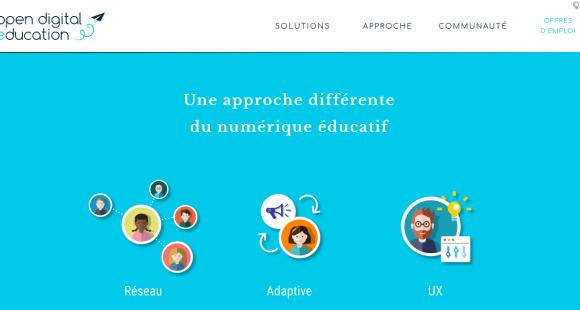 Le réseau social éducatif Open Digital Education vient de lever 2 millions d'euros auprès d'Educapital et d'Impact Partenaires.