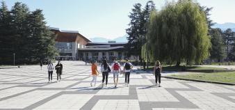 Le président de l'université Grenoble-Alpes fait le point en cette rentrée 2020. //©UGA