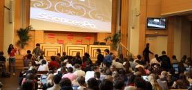 """Avec les Convention éducation prioritaire, Sciecnes po a intégré 1.300 élèves de ZEP depuis 2001. C'est le dispositif """"égalité des chances"""" le plus ancien. //©Camille Stromboni"""