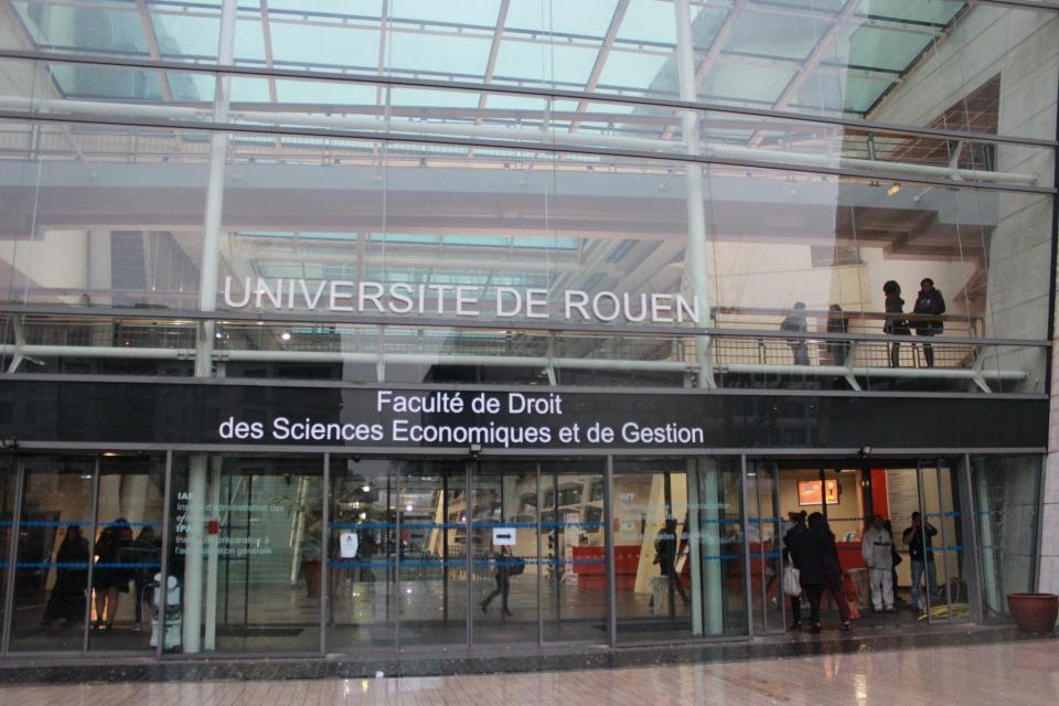 Fac de droit de l'université de Rouen //©Delphine Dauvergne