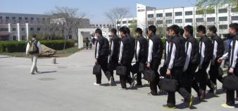 Campus de la CAUC à Tianjin - L'Enac s'est implanté en Chine avec le soutien des industriels aéronautiques ©S.Blitman avril 2013