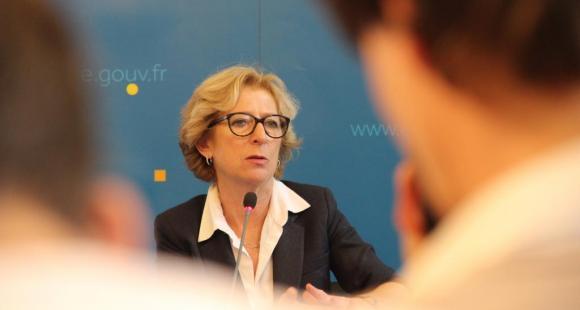 Conférence de presse de rentrée de Geneviève Fioraso - 11 septembre 2013 © S.Blitman