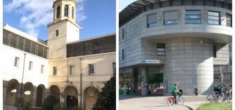 Les universités de Montpellier ( à gauche) et de Lyon 1 (à droite). //©Guillaume Mollaret /S.Blitman
