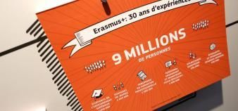 Erasmus+ prévoit une progression de son essor pour la période 2021-2027. //©Fred MARVAUX/REA