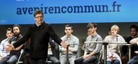 En cas de victoire, Jean-Luc Mélenchon promet d'abroger les Comue, issues de la loi Fioraso. //©Sébastien Ortola/REA