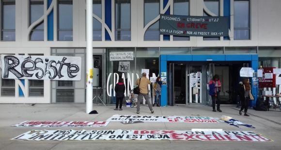 Idex, entrée à l'université : double front de mobilisation à Toulouse 2