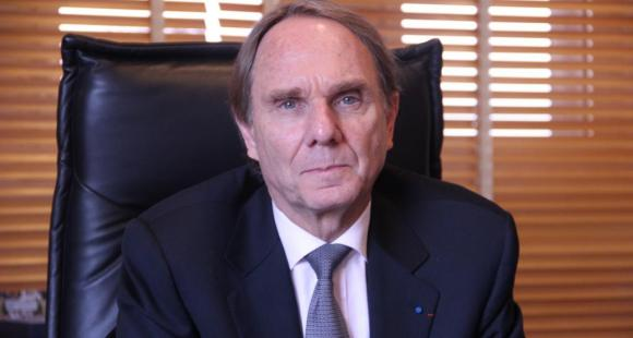 Yvon Berland - président université Aix-Marseille - ©C.Stromboni - décembre 2012