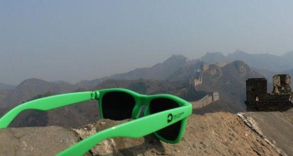 Les lunettes de soleil, signe d'appartenance des élèves au réseau Polytech © Fédération des élèves du réseau Polytech
