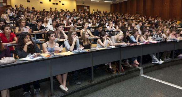 Des étudiants de l'université Paris 3 // © Sorbonne-Nouvelle / E.Prieto