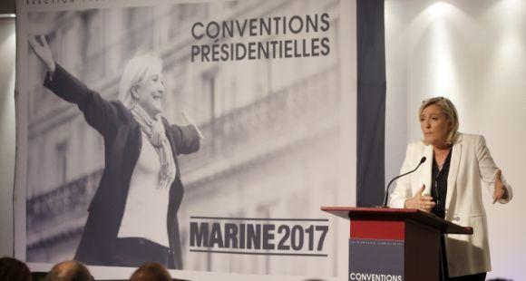 """La première """"convention présidentielle"""" de Marine Le Pen, jeudi 22 septembre 2016, a été consacrée à l'école et à l'enseignement supérieur."""