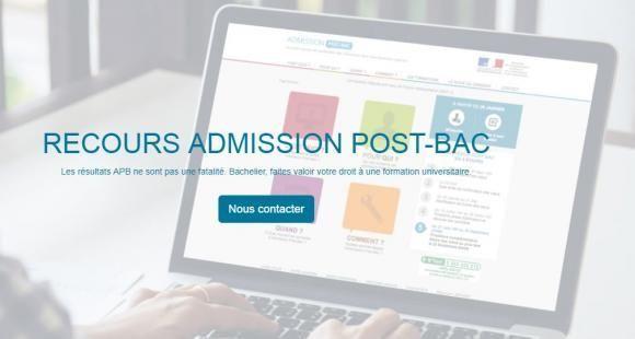 Le site du cabinet d'avocats Exème informe sur les recours possibles contre l'admission-postbac.